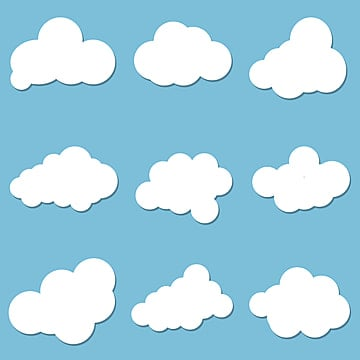Cartoon Cloud PNG Images | Vector and PSD Files | Free