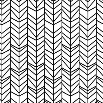 Chevron Herringbone Seamless Pattern With Black And White Colors Vector Graphic Wallpaper