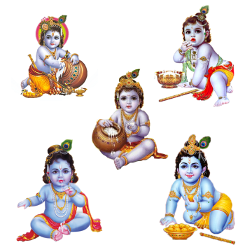 Radha Krishna PNG Images | Vector and PSD Files | Free