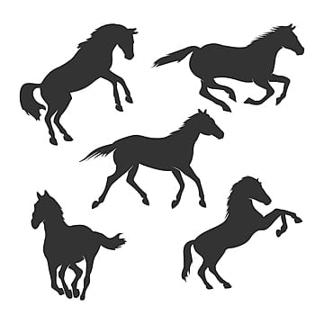 Horse Silhouette Png Images Vectors And Psd Files Free Download