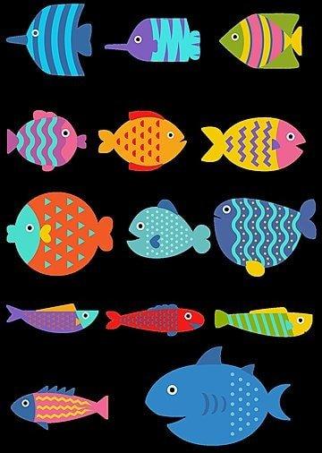 可愛い魚画像素材png画像イラストpsdと無料ダウンロード Pngtree