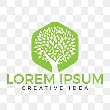 Green Tree Logo Design Health And Nature Logo Friendship Day