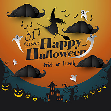 Halloween greetings png vectors psd and clipart for free download halloween greeting card witch background happy halloween party png and vector m4hsunfo