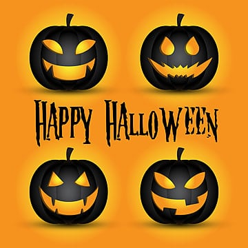 happy halloween poster, Halloween, Pumpkin Lights, Horror PNG and Vector