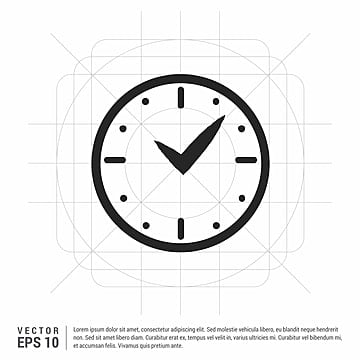 Clock Icon PNG Images | Vector and PSD Files | Free Download