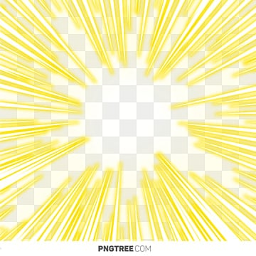 Yellow Sunlight PNG Images | Vector and PSD Files | Free
