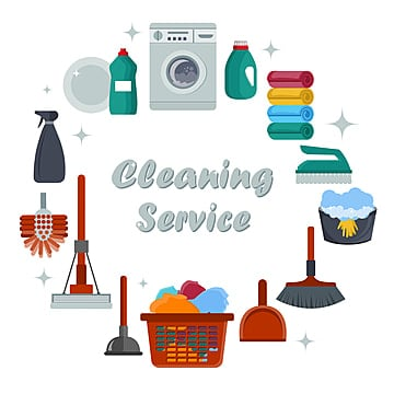 equipment cleaning service concept poster template for house cleaning services abstract background banner