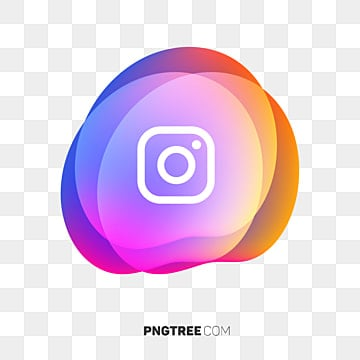 Instagram Icon Abstract Geometric Fluid, App Icon, Colorful