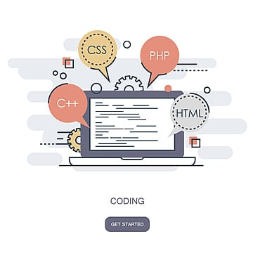 programming and coding concept application development icon for websites, App, Application, Assess PNG and Vector