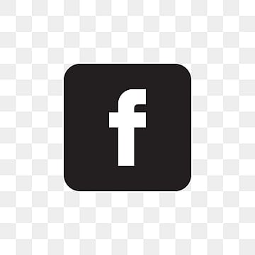 Black png icon facebook and white Free Social