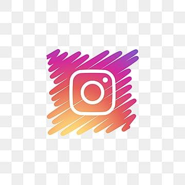 instagram social media icon design template vector, Social Media Icon, Icon, Internet PNG and Vector illustration image