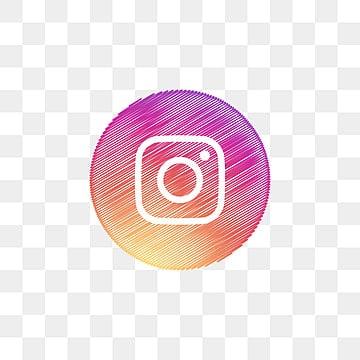 instagram social media icon design template vector, Social Media Icon, Icon, Template Vector PNG and Vector illustration image