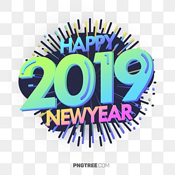 Png - Color for new year 2019 ...