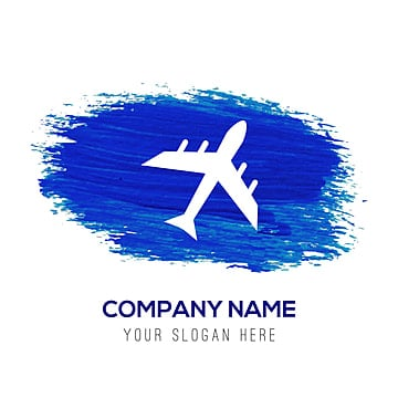 airplane icon   blue watercolor background, Airline, Aviation, Avion PNG and Vector