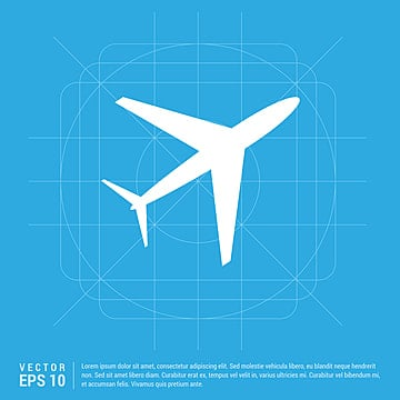 airplane icon, Airplane, Plane, Cargo PNG and Vector