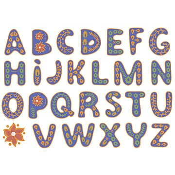 cartoon alphabet background material design, Cartoons, Letters, Learning PNG and Vector