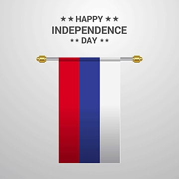 russia independence day hanging flag background, 12, 12th, Background PNG and Vector