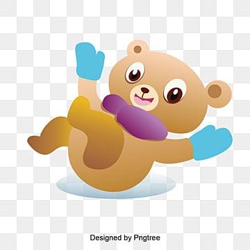 Msicyness salvadanaio orso classico carina cartone animato