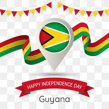 Guyana Png, Vector, PSD, and Clipart With Transparent