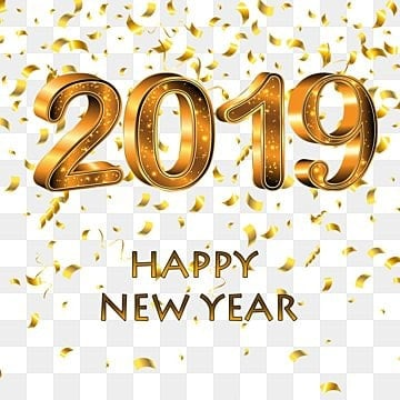 Happy New Year 2019 Png Images Vectors And Psd Files Free