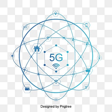Blue 5G internet technology background, Technology, Information, Internet PNG and PSD