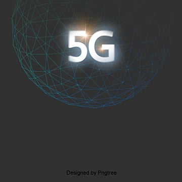 Black cool 5G internet technology scene, Technology, Information, Internet PNG and PSD