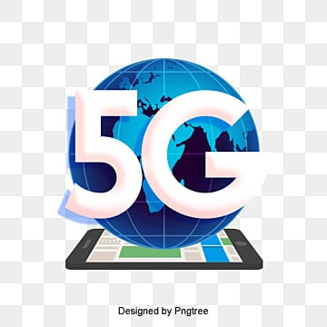 cartoon future 5g globalization scene, Technology, Information, Internet PNG and PSD