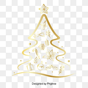 Champagne personality Christmas tree elements, , Beautiful, Festive PNG and Vector