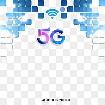 hyun blue 5g internet technology element, Technology, Information, Internet PNG and PSD