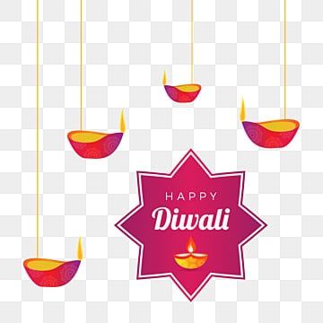 diwali wishes with hanging diya illustration, Diwali, Wishes, Abstract PNG and Vector