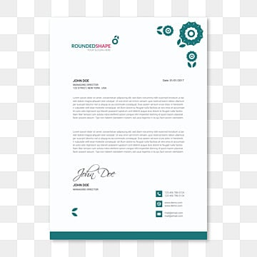 Letterhead Design Templates Png Vectors Psd And Clipart For Free