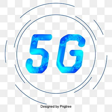 Simple 5G Technology Round Illustration, Technology, Information, Internet PNG and PSD