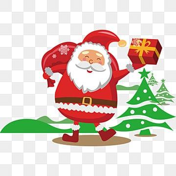 Christmas Images Free Cartoon.Cartoon Santa Claus Png Images Vector And Psd Files Free