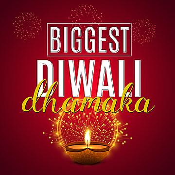 diwali dhamaka poster, Diwali Dhamaka Poster, Diwali, Deepawali PNG and Vector
