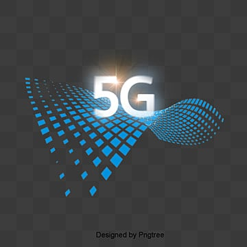 blue 3d 5g network elements, Blue, Stereo, 5g PNG and PSD