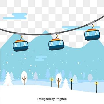 푸른 만화 케이블카 원, 블루, 만화, 케이블 카 PNG 및 벡터