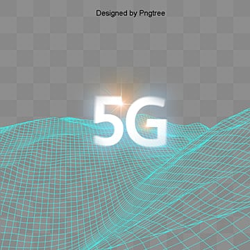 blue creative wave grid 5g network elements, Wave, Grid, Gradient PNG and PSD