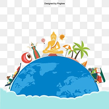 blue earth travel buddha statues cruise, travel, buddha statue, sightseeing boat png images and vector graphics