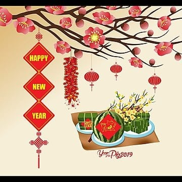 lunar new year spring festival blessing red envelope template new