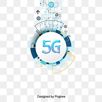modern business 5g network elements, Global Communication, Phone, Card PNG and PSD