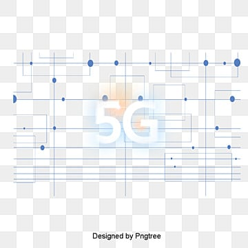 Modern Blue 5G Network Elements, Fashion, Modern, Blue PNG and PSD