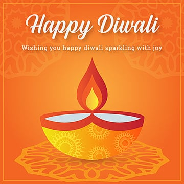 colorful happy diwali greetings with diya vector illustration, Colorful, Diwali, Happy PNG and Vector