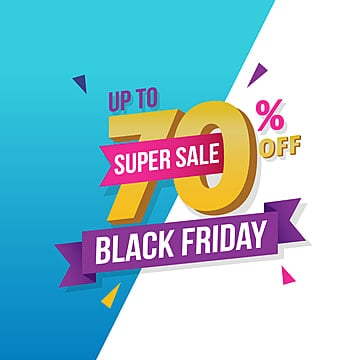 Black Friday sale banner template, Banner, Deal, Holiday PNG and Vector