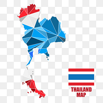 Thailand Map PNG Images | Vectors and PSD Files | Free Download on ...
