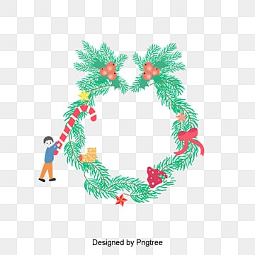Christmas Garland Png Vector Psd And Clipart With Transparent