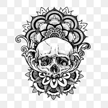Skull Tattoo PNG Images | Vector and PSD Files | Free Download on ...