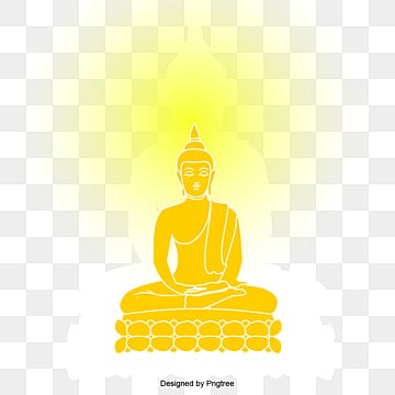 Thailand style Buddha, Cartoon, Buddha Statue, Statue PNG and Vector