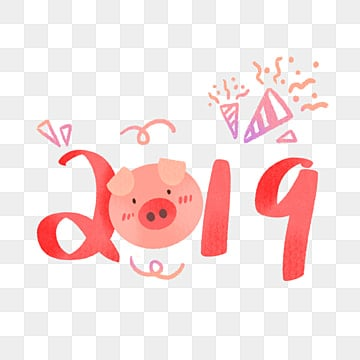 hand drawing 2019 Chinese year of pig, Hand Drawing, 2019, Chinese New Year PNG and PSD