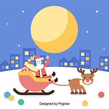 벡터 편평화 크리스마스 루돌프 소켓 배경, 사불상, 크리스마스, 편평화 PNG 및 벡터