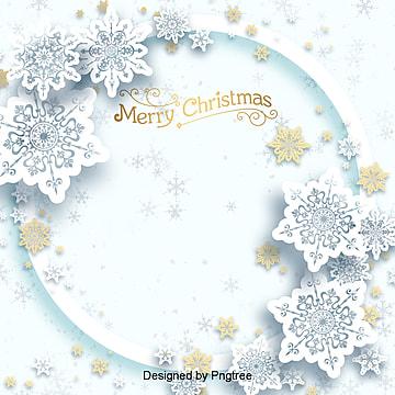 성탄절 크리스마스 새콤 눈꽃 입체 배경, 크리스마스, 배경, 작은 신선한 PNG 및 PSD